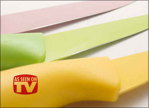 چاقو 3 تکه رنگی – فروشگاه اینترنتی کالا تی وی - kalatv.ir