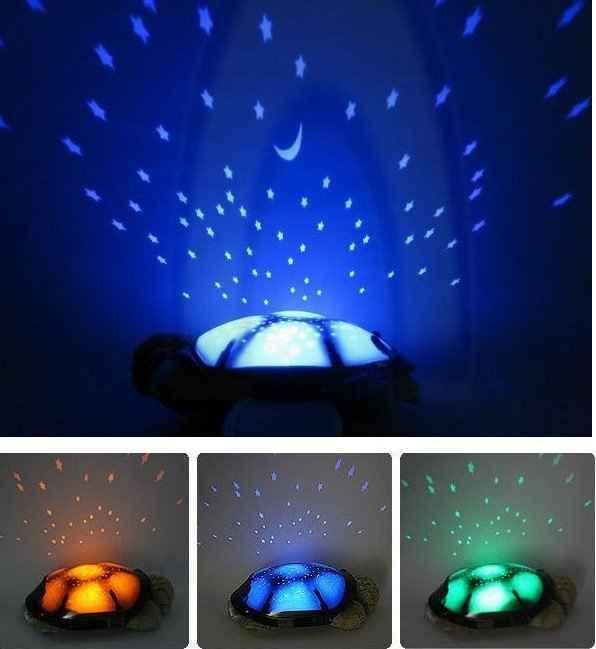 چراغ خواب لاک پشت موزیکال - فروشگاه کالا تی وی - kalatv.ir
