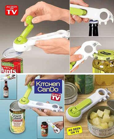 در قوطی بازکن 8 کاره آشپزخانه – فروشگاه اینترنتی کالا تی وی - kalatv.ir