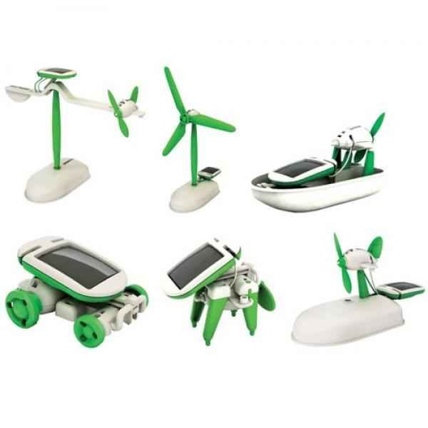 کیت آموزشی ساخت 3 روبات خورشیدی – فروشگاه اینترنتی کالا تی وی - kalatv.ir