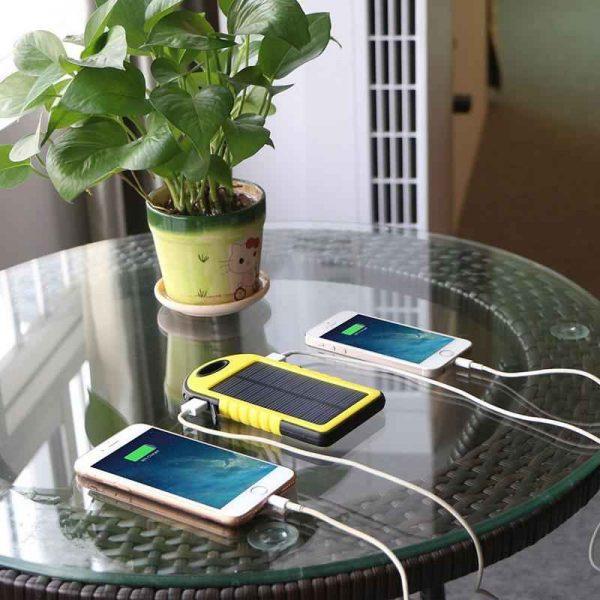 شارژر همراه پاور بانک خورشیدی – فروشگاه اینترنتی کالا تی وی - kalatv.ir